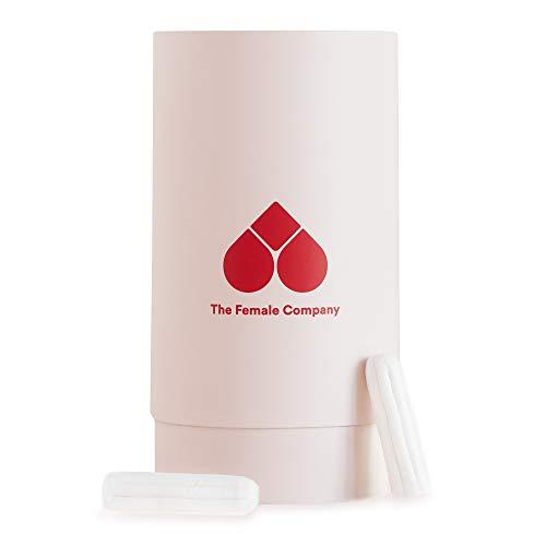 The Female Company© Bio Tampons – soft, sicher, sau(g) stark I 42x Normal + wiederverwendbare Design Box I Hypoallergene & nachhaltige Tampons – von Gynäkolog*innen empfohlen