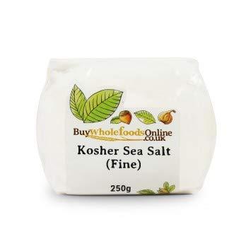 Buy Whole Foods Kosher Sea Salt (Fine) (250g)