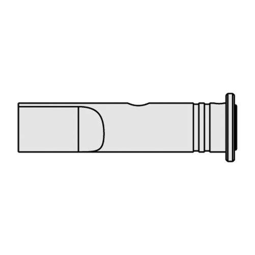 Ersa 0G132MN/SB Glühmesser für Independent 130, Gerade, Vernickelt