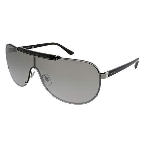 Versace Herren 0VE2140 10006G 40 Sonnenbrille, Silber (Argento)