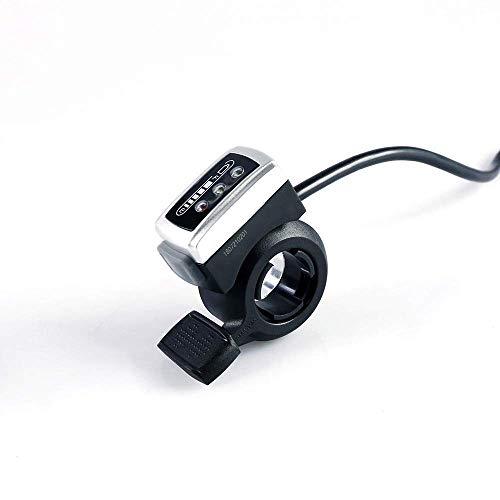 Ebike Kit de moteur de moyeu de roue avant et arrière 36 V avec affichage LED et indicateur de batterie pour scooter et vélo électrique