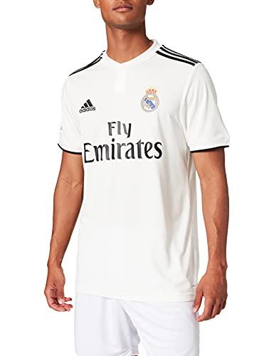 adidas Real Madrid H Camisetas, Hombre, Blanco (Core White/Black), S