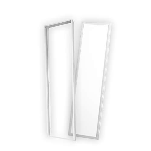 Sparpreis Xtend PLs3.0 LED Panel 120x30 30x120 40W ENEC Lichtfarbe umschaltbar warmweiß neutralweiß tageslichtweiß inkl. Aufputz-Montagerahmen Deckenleuchte