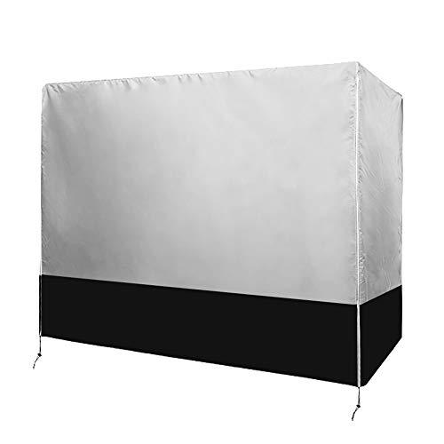 Chengsan, copertura per dondolo a 3 posti, resistente e impermeabile, copertura per dondolo a baldacchino, copertura per mobili da giardino