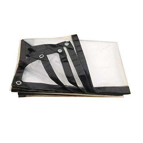 PENGFEI Transparent Bâche De Protection Balcon Tissu Imperméable Serre Film Plastique Pliable, 23 Tailles (Couleur : Clair, taille : 3x7m)