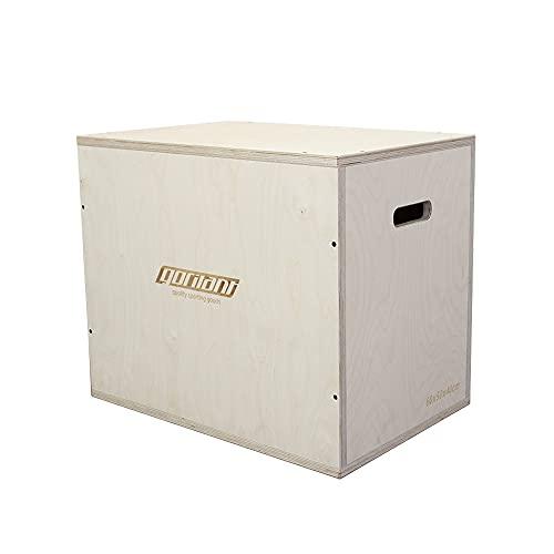 Gorilant - Cajon Pliometrico Madera de Abedul BB, Entrenamiento, Plyo Box, cajón para Saltos, tamaño S, M, L (Cajon M 60x50x40)