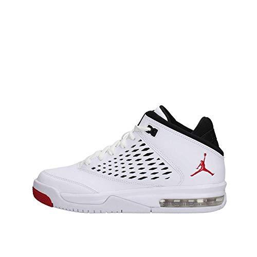 Nike Air Jordan Flight Origin 4GS, Weiß (White/Gym Red/Black)