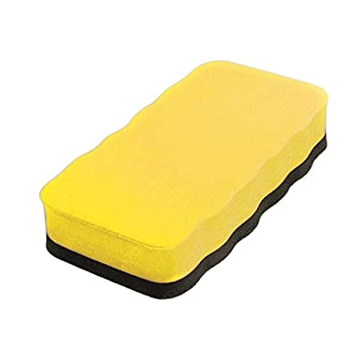 Dowling Magnets DO-735200 Magnetic Whiteboard Eraser: Solid Rectangle (1 single eraser)