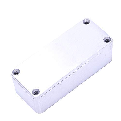 Gaoominy 1 Piezas Caja De Pisada De Aluminio Efectos Estilo