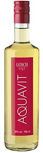 Gosch, Aquavit, 1 x 0,7l Premiumspirituose, Das Original, Unverwechselbar im Geschmack, Spitzenqualität