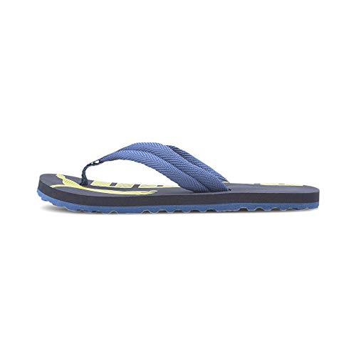 PUMA Unisex-Kinder Epic Flip V2 Ps Zapatos de Playa y Piscina, Blau (Peacoat-Bright Cobalt), 33 EU