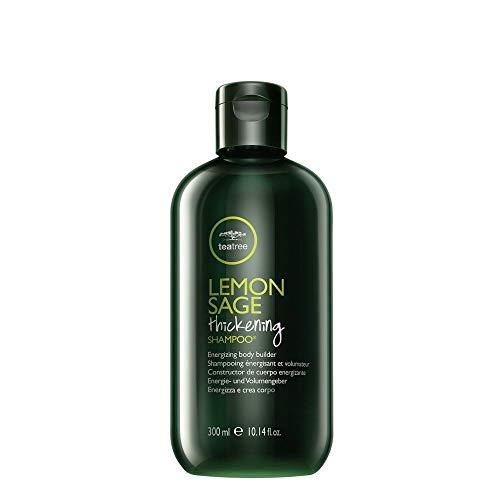 Paul Mitchell Tea Tree Lemon Sage Thickening Shampoo - Volumen-Shampoo für feines Haar, kräftigende Haar-Wäsche in Salon-Qualität, 300 ml