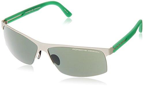 Porsche Design Sonnenbrille P8561-E-66 Rechteckig Sonnenbrille 66, Grau