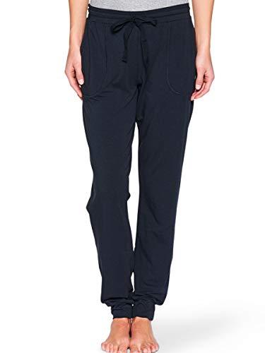 Marc O'Polo Body & Beach Damen Jogginghose PANTS, Gr. 34 (Herstellergröße: XS), Schwarz (blauschwarz 001)
