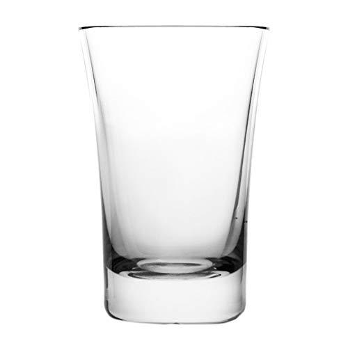 Cristal de Sèvres Vertigo Set de Verres Vodka, Verre, 5 x 5 x 5 cm, Lot de 2