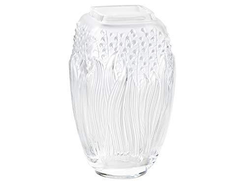 Lalique Clear Crystal Maiglöckchen-Vase