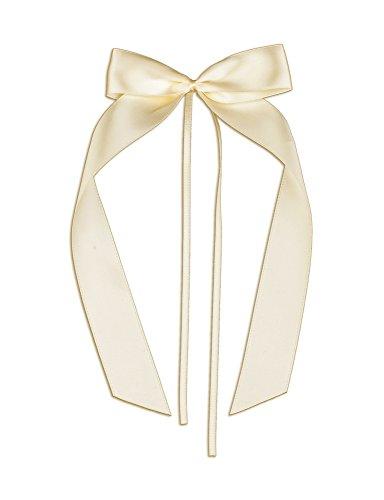 FlexiStore 10 Antennenschleifen, Deko Schleifen, Hochzeit, Autoschmuck, Autoschleifen, Beige