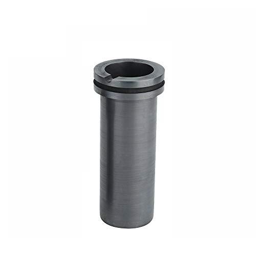 Dumadf Graphit-Schmelztiegel, Doppelring, Labor-Metallschmelzguss für Gold, Silber, Kupfer, Veredelung, 2 kg