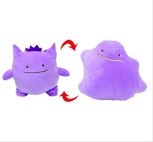Plüschtier Anime Tasche Tier Dito Kissen Kissen Transfer Charmander Squirtle Bulbasaur Plüschpuppen Spielzeug Geschenk 25cm Gengar