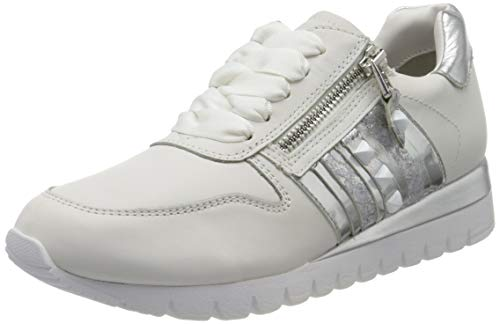CAPRICE Damen Ibiza Sneaker, Weiß, 39 EU