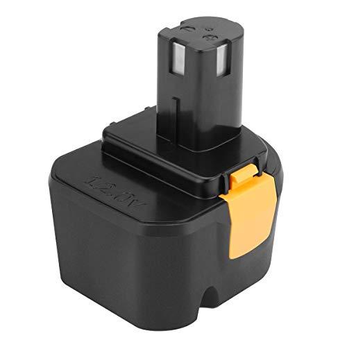 Exmate 12V 3500mAh Ni-MH Batería de repuesto para Ryobi 1400143 1400652 1400670 4400005 B-8286 BPT1025 RY-1204