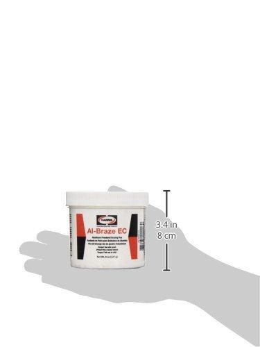 Harris ECDF1/2 Al-Braze EC Powder Flux,1/2 lb. Jar