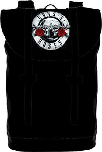 Guns N Roses Backpack Heritage Bag シルバー Pistols Band Logo 新しい 公式 Size One Size