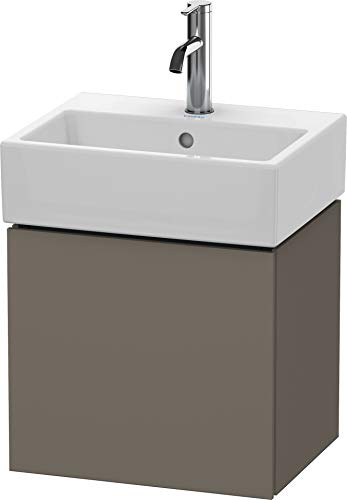 Preisvergleich Produktbild Duravit Duravit Waschtischunterbau L-CUBE 400 x 434 x 341 mm Anschlag links flannel grey seidenmatt