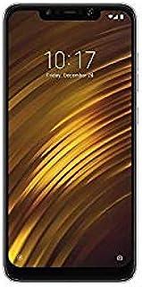 شاومي بوكوفون F1 بشريحتي اتصال - 128 جيجا، 6 جيجا رام، الجيل الرابع ال تي اي، اسود غرافيت – اصدار عالمي