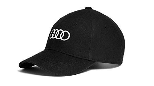 Audi original Unisex Baseballkappe (Schwarz)