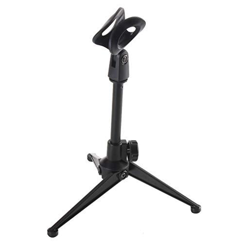Guangcailun Soporte para micrófono plástico del soporte Soporte para la mesa plegable...