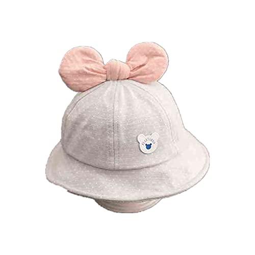 UKKD Sombrero Pescador Lindo Pequeño Hierba Bebé Sombrero Verano Transpirable Muchachos Muchachas Sombrero Color Sólido