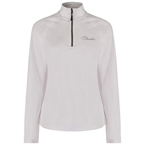 Dare 2b Loveline III STR Sweat Shirts Couche intermédiaire Extensible Femme, Blanc, 40