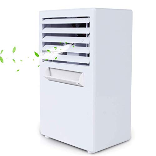 N&G Daily Equipment Air Conditioning Fan Mini Refrigeration Small Air Conditioning Spray Fan Convenience (Color : A)