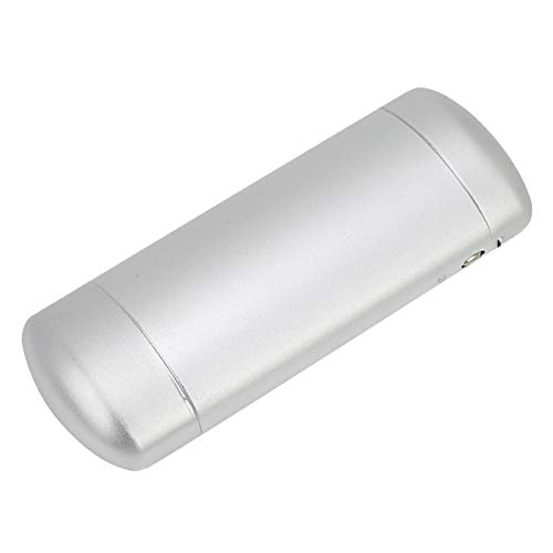 EZESO Glasses Case Spectacle Case Box Metal Frosted Hard Lined Nearsighted Eyeglass Case for Small Frame