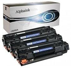 Alphaink KIT-3-AI-CE285A Toner compatibili per HP CE285A Laserjet Pro M1130 M1132 M1134 M1136 M1137 M1138 M1139 M1210 M1212 M1213 M1214 M1216 M1217 M1218 P1002 P1100 P1101 P1102 P1103 P1104 2000copie