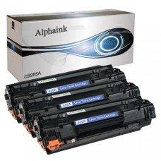 Toner Alphaink AI-KIT3-CE285A compatibile per HP Laserjet M1130 MFC Series M1132 M1134 M1210 P1002 P1004 P1009 Hp Professional M1100 Series P1107 P1108
