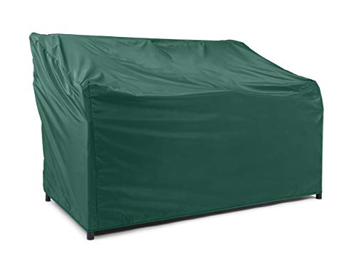 Covermates Outdoor Patio Sofa Cover - Light Weight Material, Weather Resistant, Elastic Hem, Seating and Chair Covers - Green