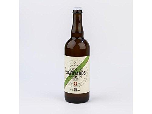 Cerveza Rubia Orgánica con Genepy - Cerveza con especialidad Genepi de los Alpes franceses - 0.75l