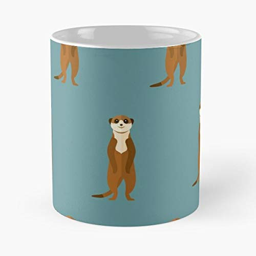Desconocido Carefree Green Badger Scooter Vespa A Honey Cool Riding On Taza de café con Leche 11 oz