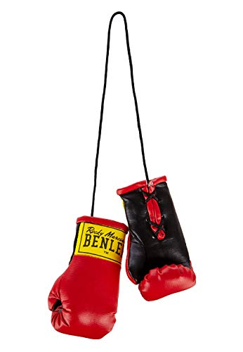 BENLEE Rocky Marciano Unisex - Adulto Mini Miniature Boxing Gloves, Dark Red, One Size