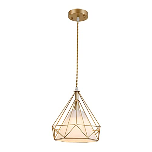Lámparas de araña Lámparas de araña, lámparas de restaurante nórdicas, araña de dormitorio en la cama individual. lamparas colgante (Color : A)