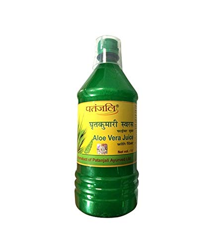 Patanjali Juice - Aloe Vera Fiber 1 Liter