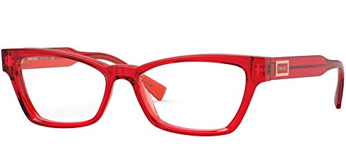Gafas Versace VE 3275 5323 Transparente Rojo