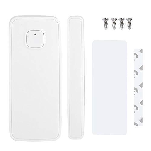Sensor Inteligente,Tangxi WiFi Sensor de Alarma de la Ventana de la Puerta Inteligente Sistema de Seguridad inalámbrico para el Hogar Controlado por Teléfono Móvil a Través de App