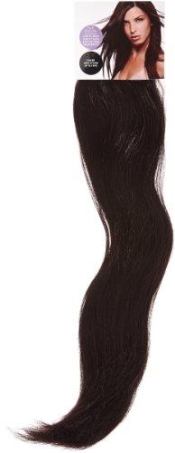 Love Hair Extensions Thermofiber seidig, glatt, 10-teiliges, komplettes Headset Clip-In-Extensions Farbe Plum - 46cm, 1er Pack (1 x 1 Stück)