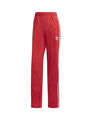 adidas Damen Sport Trousers Firebird TP, Lush red/White, 40, FM3266