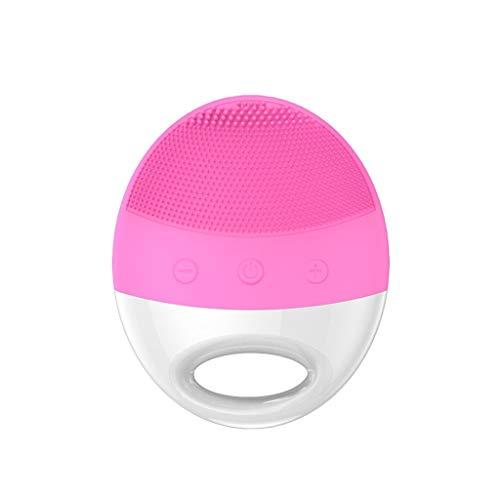 Nettoyant for Brosse de Lavage de Silicone Portable for Instrument de Nettoyage des Pores de Brosse de Lavage Portable Liuyu. (Color : Pink)