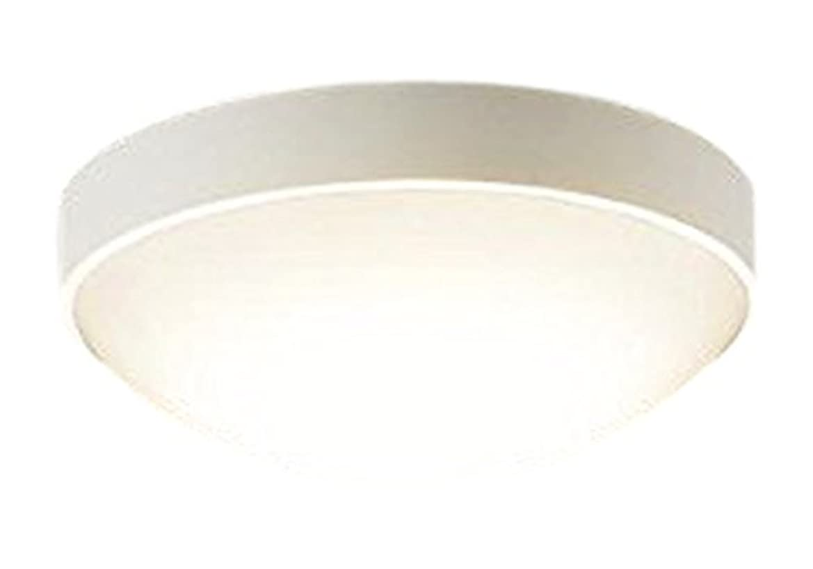 バック廊下納税者Panasonic 軒下用シーリングライト(電球色) ホワイト LGW51661LE1