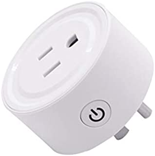 FUDAI Smart Plug,Mini Smart Plug Outlet,WIFI Switch with Voice Control, Timer Function,Remote Control by eWeLink APP